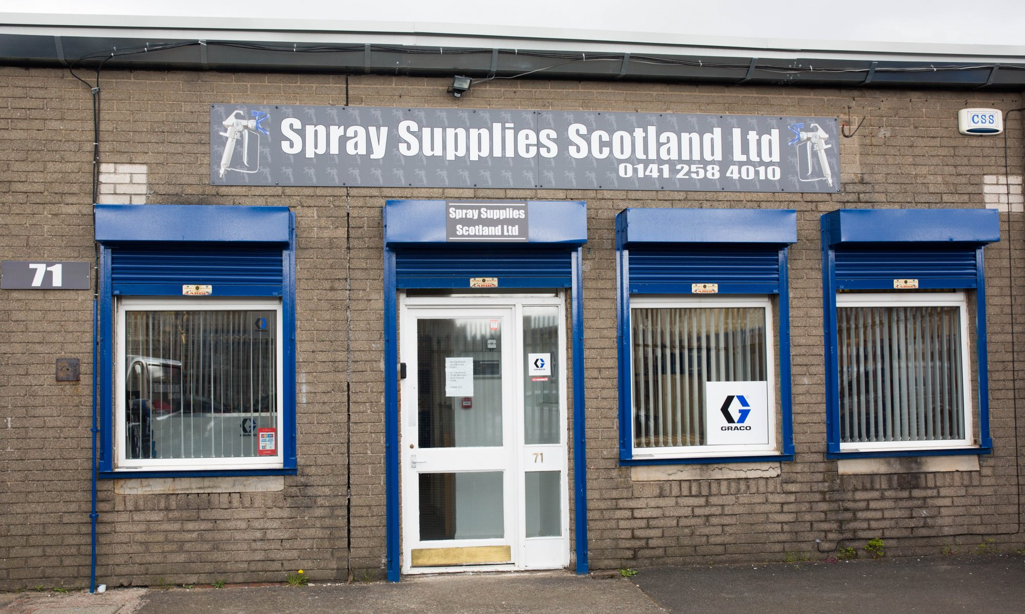 Spray Painting Equipment in Glasgow. Sales, Hire, Repair & Service.